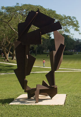 Joel Perlman Island Star sculpture photo