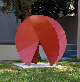 Jean Claude Rigaud Composition in Circumference sculpture photo